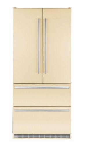 LIEBHERR CBNbe 6256, béžová americká chladnička
