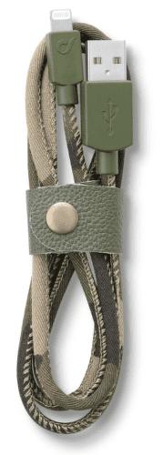CellularLine LongLife Kábel s konektorom lightning (camouflage)