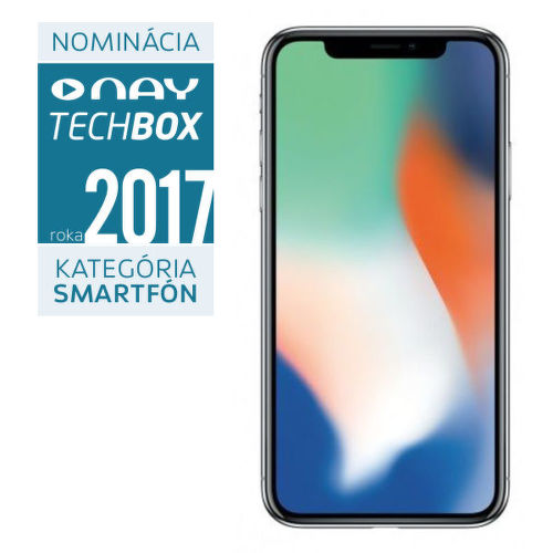 Apple-iPhone-X-strieborna