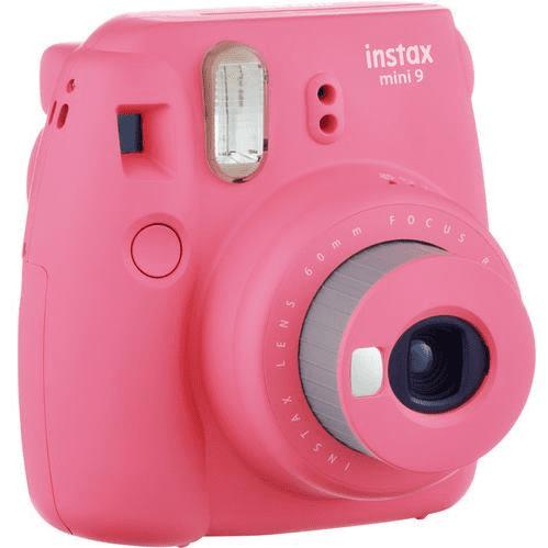 FUJIFILM Instax Mini 9 ružový + Puzdro + 10ks filmov - Polaroid  49f0a4fb993