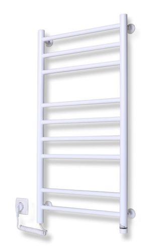 ELNA R9B, biely kúpeľňový radiátor