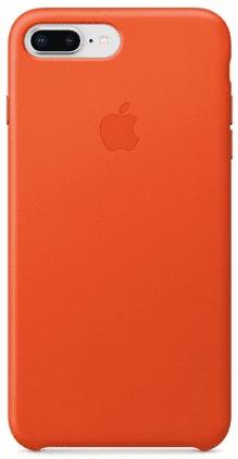 Apple kožené puzdro pre iPhone 7+/ 8+, oranžová