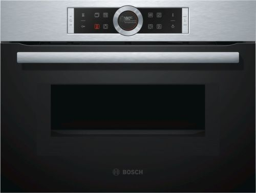 Bosch CMG633BS1, vstavaná rúra s mikrovlnami