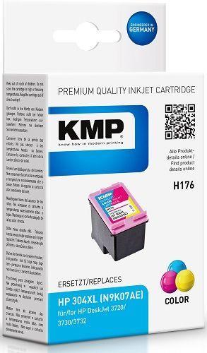 KMP N9K07AE, H176 recyk. náplň HP 304XL