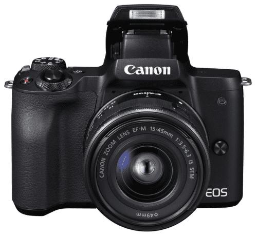 Canon EOS M50 čierna + EF-M 15-45mm IS + EF-M 22mm