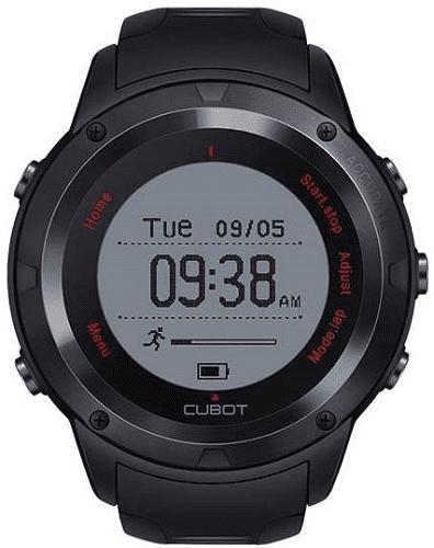 Cubot F1 čierne smart hodinky vystavený kus s plnou zárukou  fb5f3fbbd37