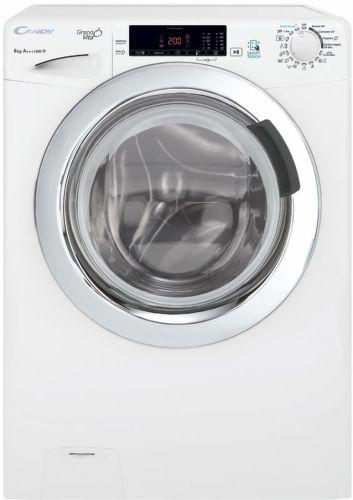 CANDY GVS44138TWC3/2-S, biela smart slim práčka plnená spredu