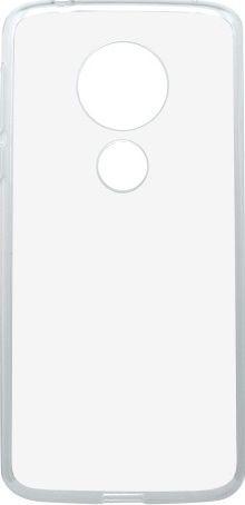 Mobilnet gumené puzdro pre Motorola Moto E5, transparentná