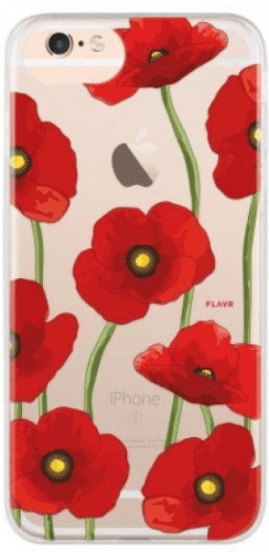 Flavr iPlate puzdro pre iPhone 8/7/6S/6, Poppy