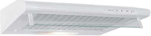 MORA OP 610 W, biely podskrinkový digestor