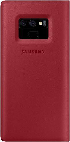 Samsung Leather puzdro pre Samsung Galaxy Note9, červená