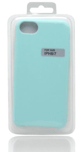 Mobilnet silikónové puzdro pre iPhone 7/8, zelená