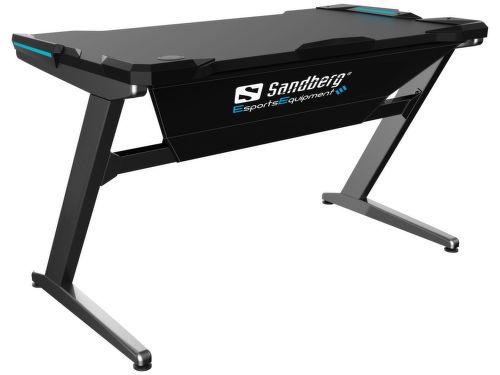 Sandberg Fighter Gaming Desk sivý