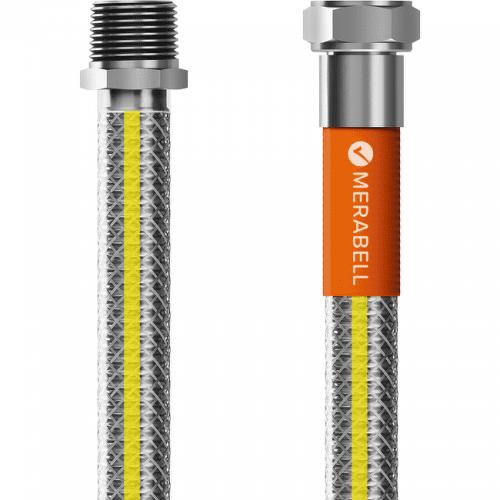 """Merabell Gas Profi R1/2"""" - G1/2"""" 125 cm plynová hadica"""