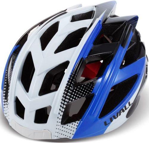 Livall BH60, cyklo prilba M-L bielo-modrá
