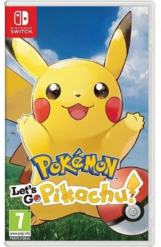 Pokémon: Let's Go Pikachu! - Nintendo Switch hra
