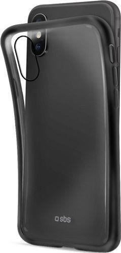 SBS silikónové puzdro pre Apple iPhone Xs Max, čierne