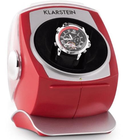 Klarstein Senna červený, stojan na hodinky