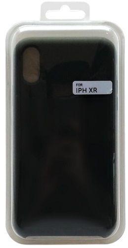 Mobilnet silikónové puzdro pre Apple iPhone Xr, čierna