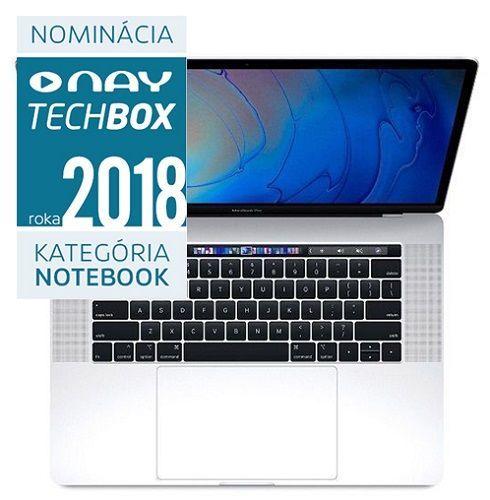 Apple MacBook Pro 15 Retina Touch Bar i7 256GB 2018 strieborný