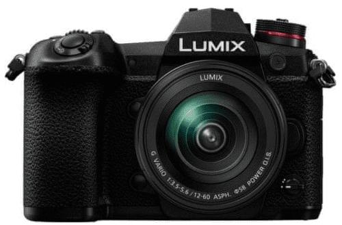 Panasonic Lumix DC-G9 čierna + Lumix G Vario 12-60 mm f/3,5-5,6 ASPH. Power O.I.S.
