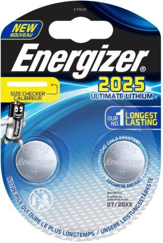 ENERGIZER CR2025Lithium 2ks