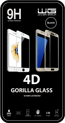 Winner ochranné tvrdené sklo iPhone X/iPhone XS 4D