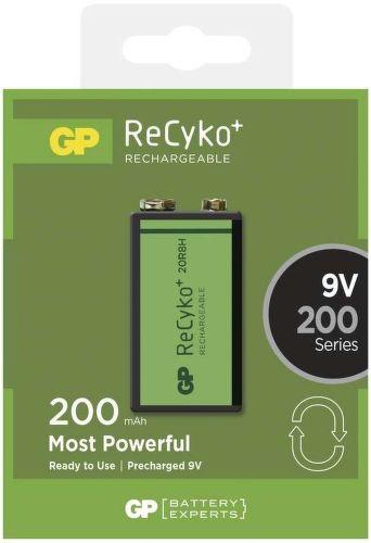 GP ReCyko+ 6F22 (9V), 1 ks