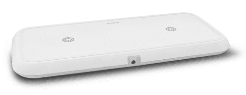Zens Duálna Qi 20 W Fast Charge bezdrôtová nabíjačka, biela