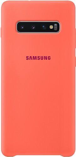 Samsung silikónové puzdro pre Samsung Galaxy S10+, ružová