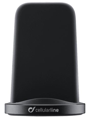 Cellular Line Fast Charge Stand bezdrôtová nabíjačka, čierna