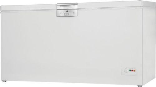BEKO HSA 37530, biela truhlicová mraznička