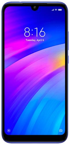 Xiaomi Redmi 7 32 GB modrý