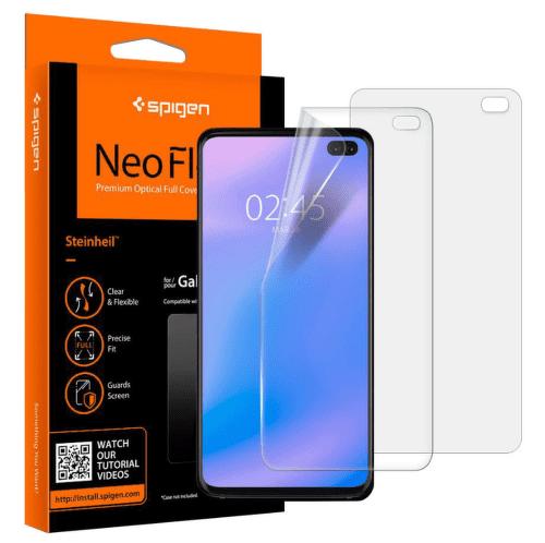 Spigen Neo Flex HD ochranná fólia pre Samsung Galaxy S10+