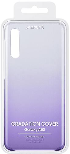 Samsung Gradation Cover zadný kryt pre Samsung Galaxy A50, fialová