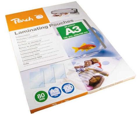 PEACH Laminovacia fólia A3 80mic PP580-01