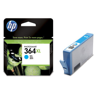 HP CB323EE CYAN XL náplň No.364C XL BLISTER