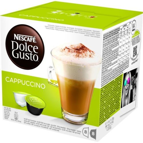 NESCAFE Cappuccino, kapsulová káva