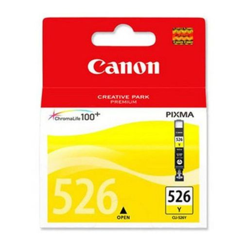 CANON CLI-526Y, YELLOW ink cartridge BL SEC