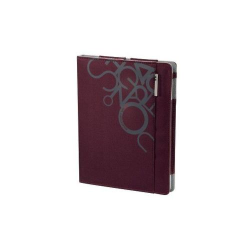 "101411 aha: ""Jumble"" Portfolio for iPad2, cherry red"