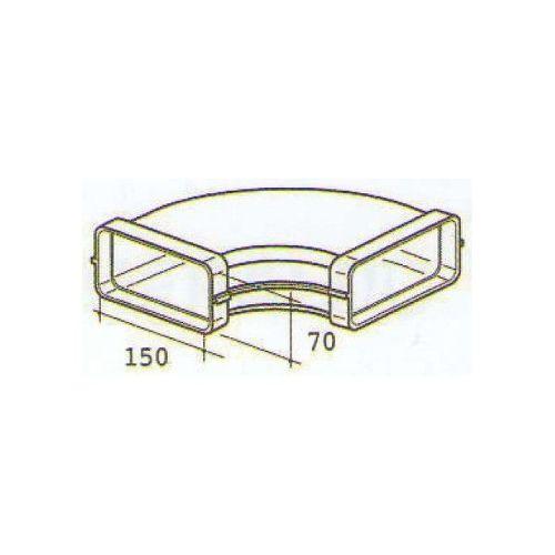 ELICA 1052 E, plastove rozvody 125mm