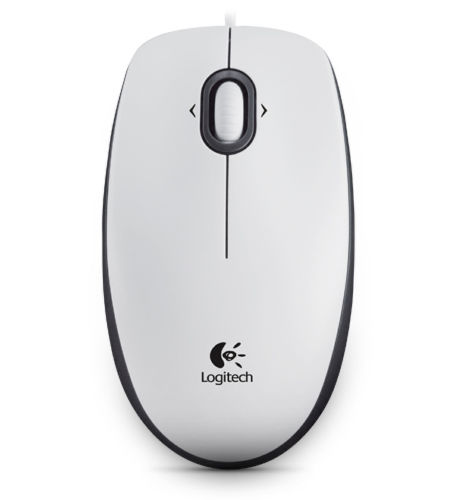 Logitech Mouse M100 White, EER Orient Packaging, 910-001605