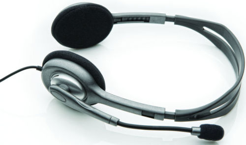 Logitech H110 - sluchátka s mikrofonem