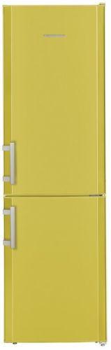 LIEBHERR CUag 3311, žltá kombinovaná chladnička