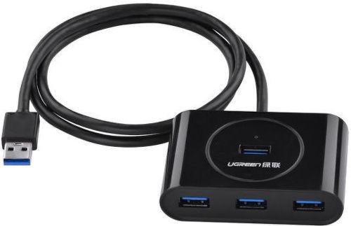 Ugreen 20290 (čierny) - USB 3.0 4portový HUB