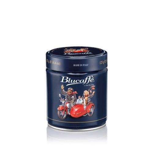LUCAFFE  Blucaffe 125g, Mletá káva plechovka