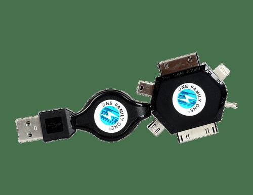 Winner multifunkčný dátový kábel s navíjaním