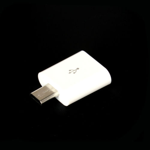 Winner adaptér iPhone 5 - MicroUSB (biely)