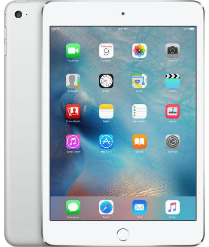 Apple iPad mini 4 Wi-Fi 16GB, Silver MK6K2FD/A