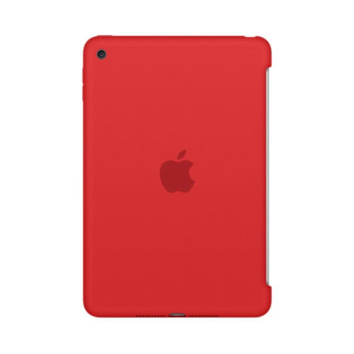 APPLE iPad mini 4 Silicone Case - Red MKLN2ZM/A